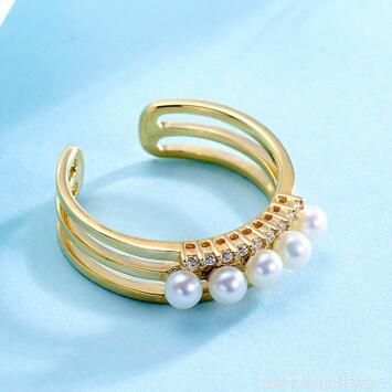 供应 天然淡水珍珠项链 强光近正圆无瑕