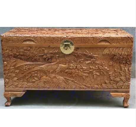 老时代的樟木箱