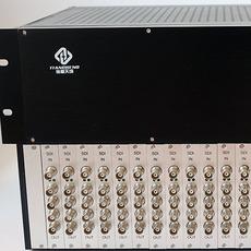 纵横天成16进64出SDI分配器 插卡式结构 支持标清高清3G信号