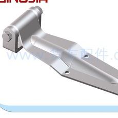 09201冷藏车配件 不锈钢单肉钩 不锈钢双肉钩 重型滑轨 导轨