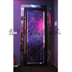 廠家定制KTV不銹鋼包房門酒吧歐式門包廂歐式花紋門