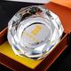 八角K9水晶烟灰缸定制 创意时尚欧式水晶烟缸家居生活用品