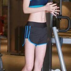 夏季运动短裤女含内衬防走光大码显瘦瑜伽跑步速干马拉松健身短裤
