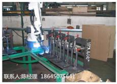 电动车前叉焊接机器人工作站