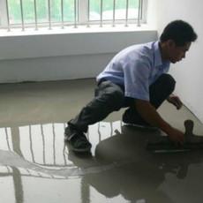 水泥自流平地面产生裂缝的原因
