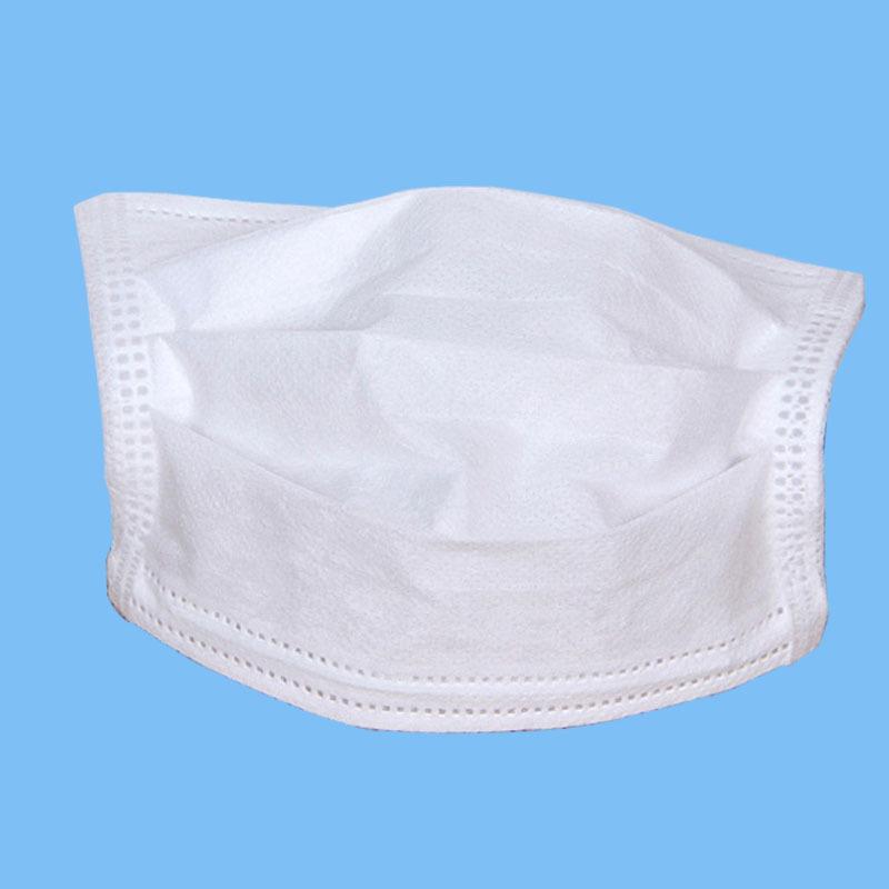 厂家直销儿童三层无纺布平面口罩小孩一次性防套头尘防异味口罩