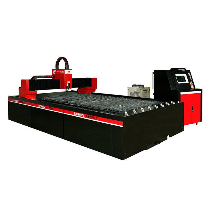500w光纤激光切割机-金属加工专用利器-大汉激光