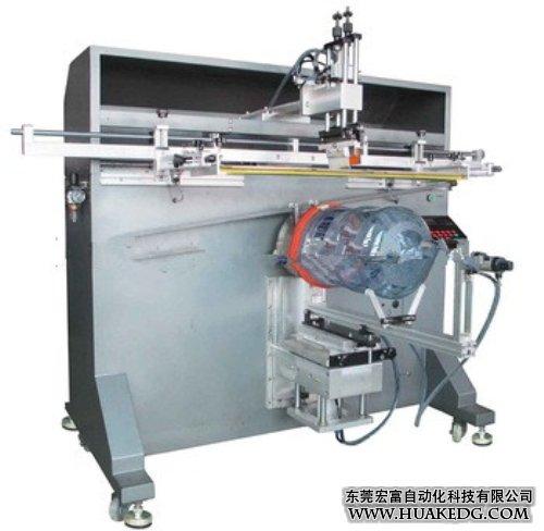 圆面半自动桶丝印机
