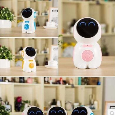 智能机器人儿童伴侣玩具语音对话男孩女孩早教故事机聊天学习WiFi