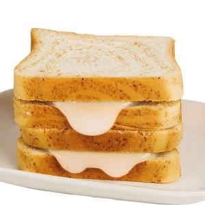 欧贝拉炼乳夹心全麦吐司面包1500g 早餐切片蛋糕点心休闲零食小吃