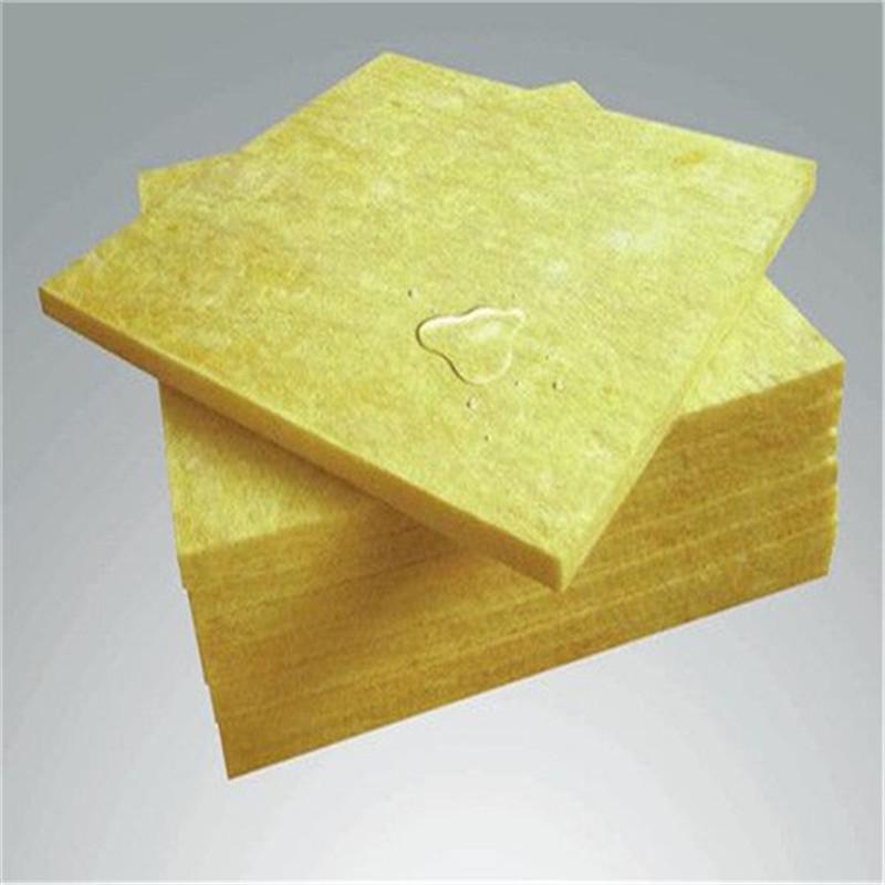 晟州  大量供应离心玻璃棉板   耐高温屋顶建筑玻璃棉板   防火耐高温离心玻璃棉板