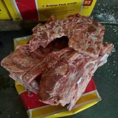 供应进口颈骨 比利时93厂 冷冻颈骨 正关产品 一手货源