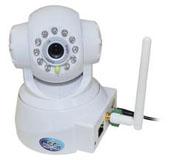 供应 无线红外联动报警移动侦测商住两用网络对讲安防摄像头