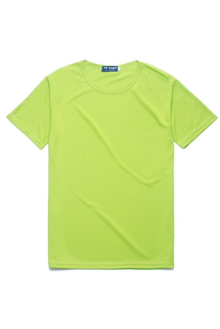 江西现货供应运动圆领广告衫定做文化衫定制