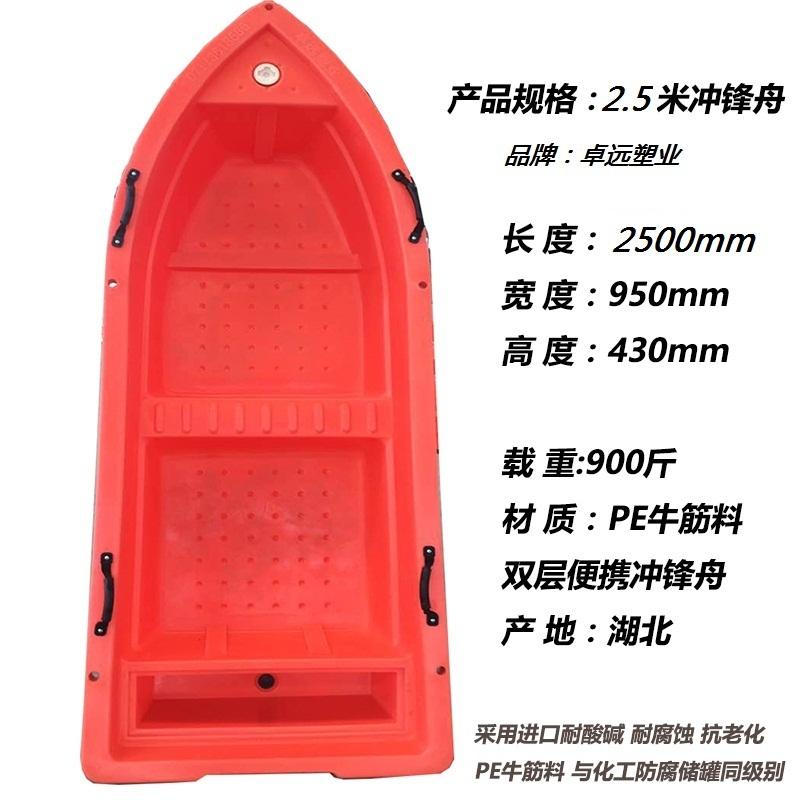 厂家销售湖北卓远塑胶船塑胶制品