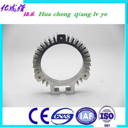 供应定做铝型材 定做6063-T5挤压异形铝合金型材 可自带模具 HC-12