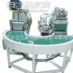 佛山超声波清洗机厂家定做铝合金压铸件转弯输送式超声波清洗设备