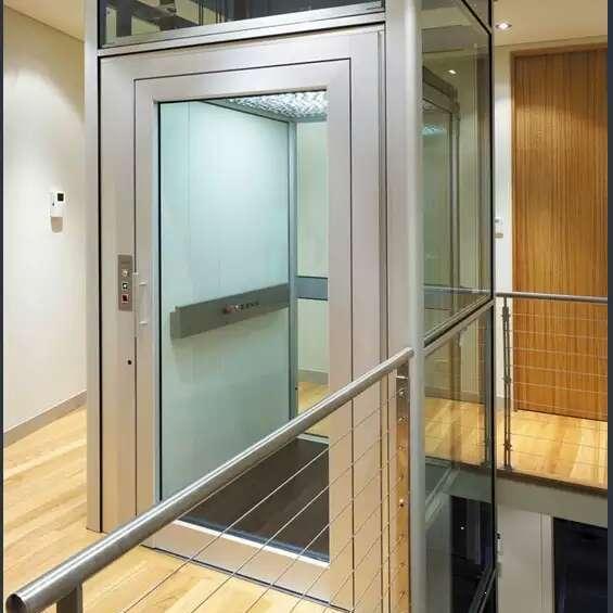 观光电梯 小型别墅家用电梯 阿帕狮龙BST-907-0.4-wj 五人乘坐 最小井道 私人定制