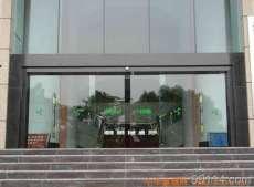 昆山地区专业安装无框钢化玻璃门,更换拉手门夹