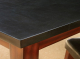 厂家直销欧美纯天然黑色大理石实木方形沙发桌子茶桌椅热销茶几桌
