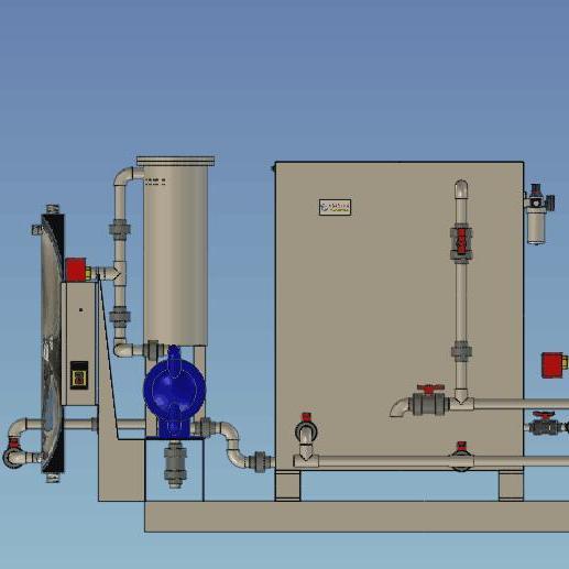 智能型乳化液净化再生设备系统