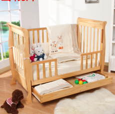 供应澳佑堡实木婴儿床