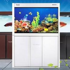 鱼缸水族箱玻璃 上过滤金鱼缸生态鱼缸家用中型缸0.8米1米HLJ