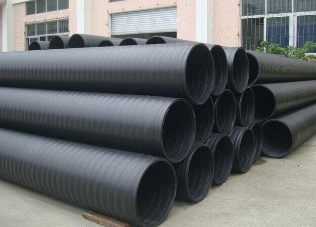 HDPE中空壁缠绕管批发—统塑管业
