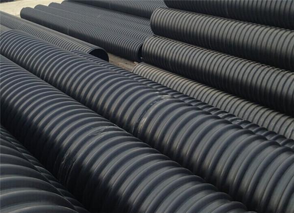 PE钢带螺旋波纹管—统塑管业