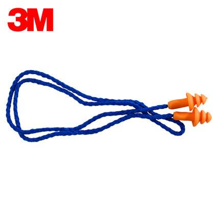 3m1270硅膠可清洗耳塞工業防塵降噪音工作專用游泳帶線圣誕樹圖片