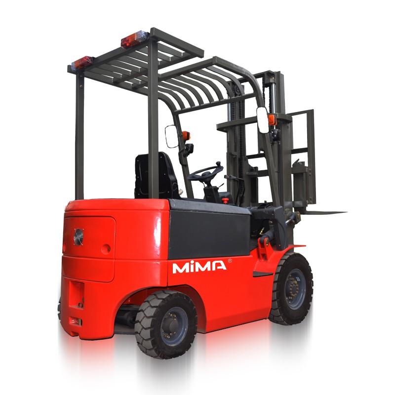 MIMA全交流三轮平衡重叉车   原装现货山东平衡重叉车,TKA系列三支点平衡重蓄电池叉车