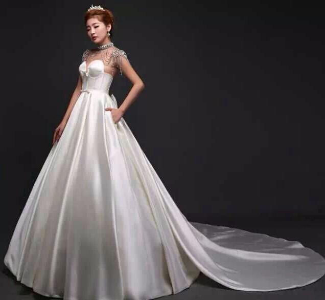 婚纱逐渐演变为童贞的象征