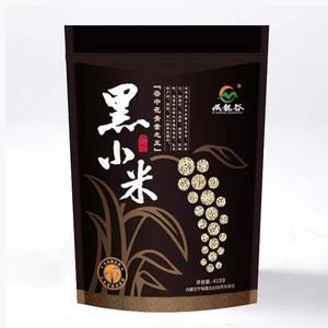 藏龙谷自然优选 内蒙古赤峰特产有机杂粮养胃黑小米月子米418g