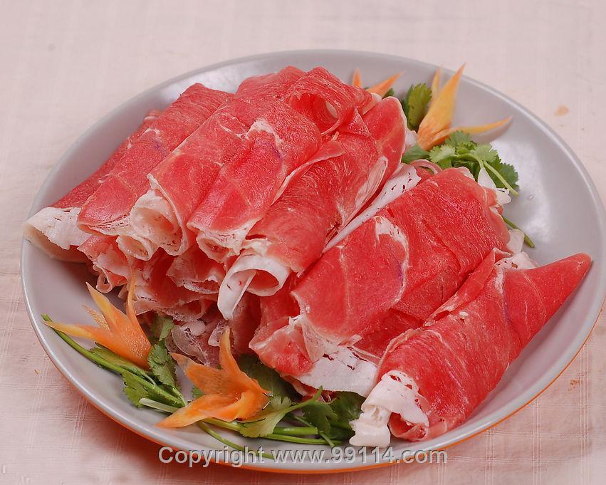 牛肉片 羊肉片 牛肉卷 羊肉卷2
