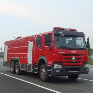 江特牌JDF5314GXFPM160型16吨泡沫消防车