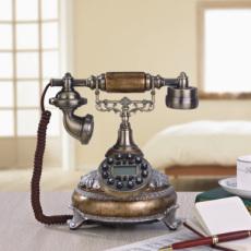优质供应欧式油画颜色电话机 复古创意电话机 家装时尚软装电话机 欧式电话机 仿古