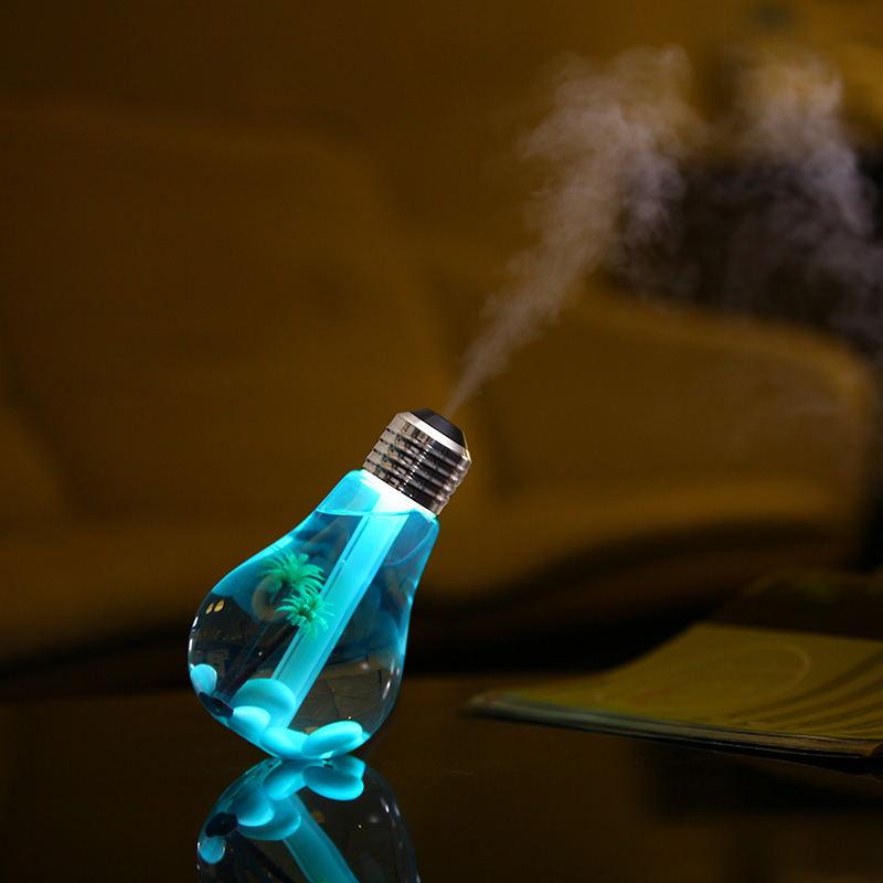 创意灯泡加湿器 生活负离子美容补水仪迷你usb车载空气加湿器批发