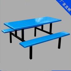 批发供应食堂餐桌餐椅-4人食堂餐桌椅-学生食堂餐桌椅厂家