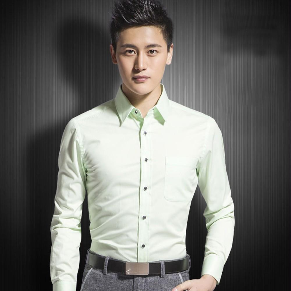 男士职业衬衫 职业衬衣定做  男士长袖尖领衬衫定做 多色可选择 售后无忧 免费修改