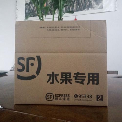 陕西腾胜纸箱厂家供应 顺丰专用快递水果箱 标准尺寸 量大从优