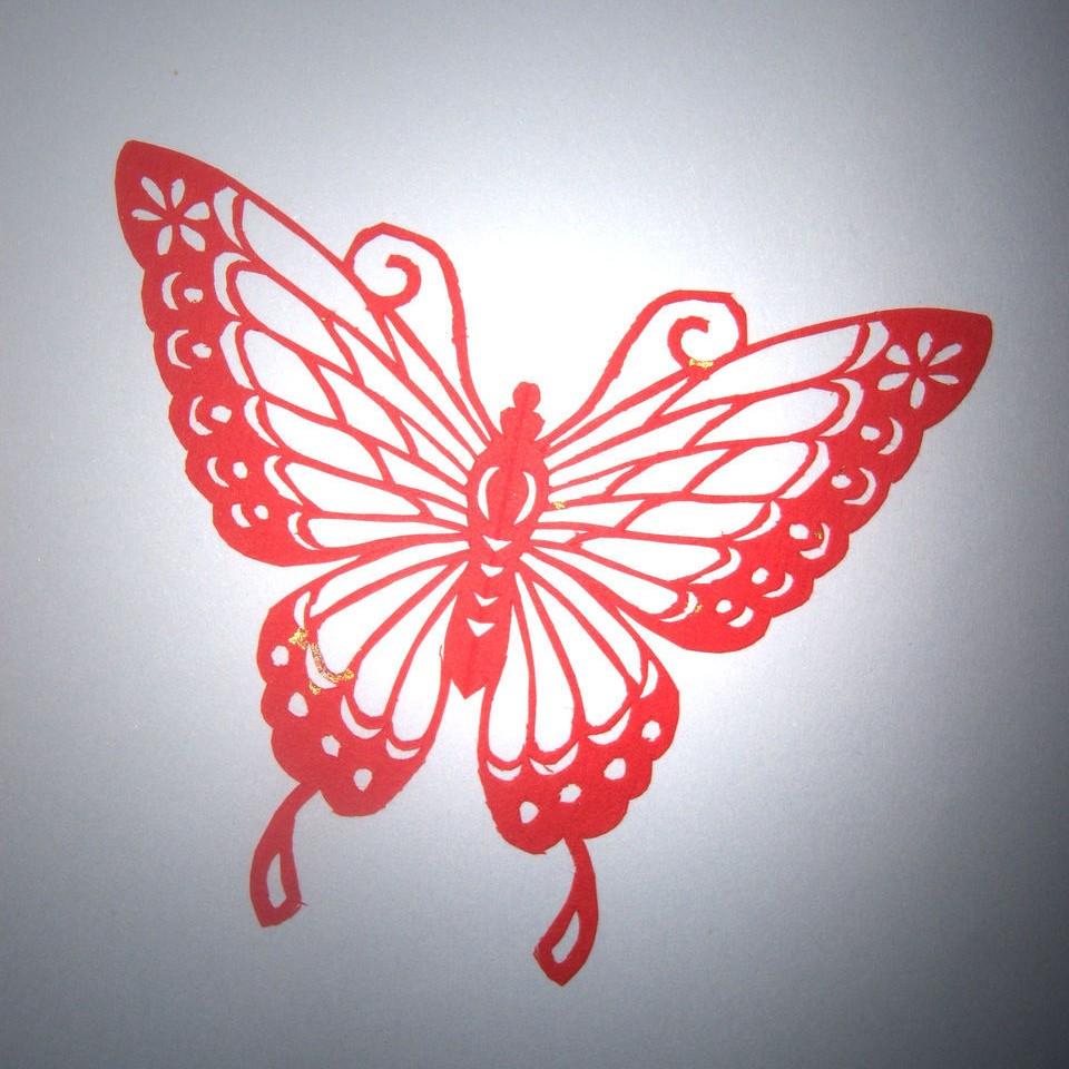 安塞剪纸 农民画 民间工艺 纯手工制作 花草 动物 任务各种类型