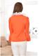 供应秋季新款女装时尚韩版荷叶泡泡袖女式衬衫 品牌女式衬衫