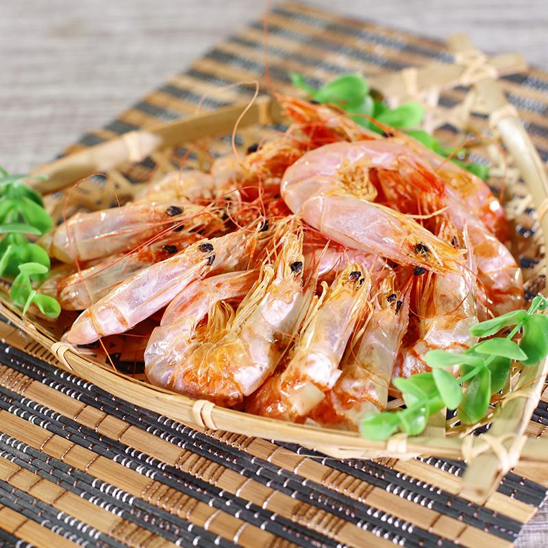 福建特产 烤虾干干虾250克即食 海鲜干货天然新鲜野生大对虾