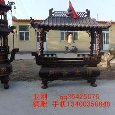 卫刚铜雕厂大型寺庙铸铁香炉