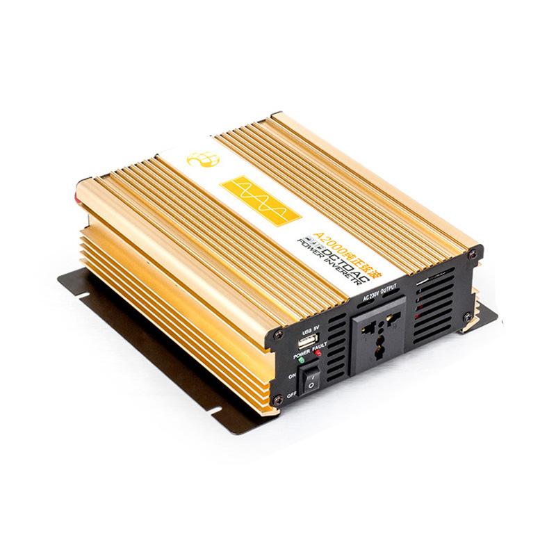 弘品纯正弦波逆变器2000w太阳能逆变器房车冰箱必备逆变器