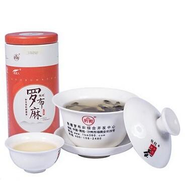 敦煌野生红花罗布麻红茶排毒养颜降三高正品包邮茶叶 150g