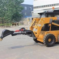 HCN屈恩机具滑移装载机小型挖掘器,0308单臂挖