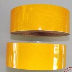 黄色反光地板胶带 反光黄色地板胶带