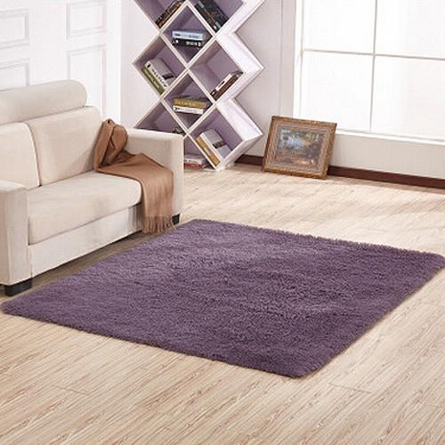 批发加工定制丝毛绒地毯 客厅茶几卧室床边垫 地垫 门垫 不掉毛