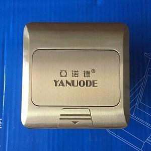 供应 最新爆款铜质弹起式方型地板插座